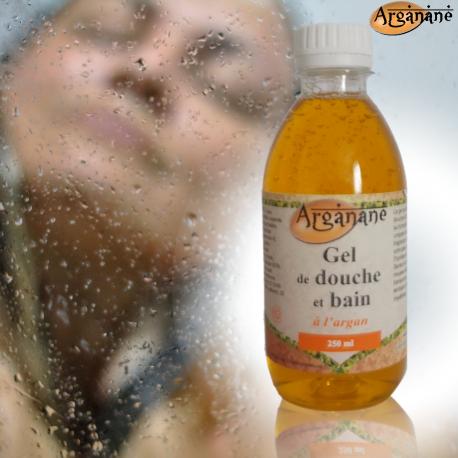 Gel de douche et bain à l'argan 250 ml - ARGANANE