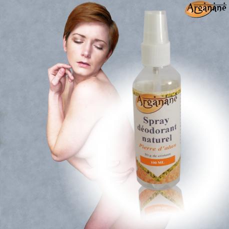 Spray déodorant alun 100 ml - ARGANANE