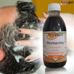 Shampoing à la Nigelle - ARGANANE