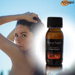 Huile cosmétique à l'huile d'argan 60 ml - Terre d'oleane