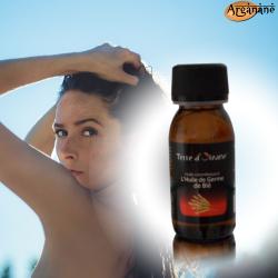 Huile cosmétique à l'huile de germe de blé 60 ml - Terre d'oleane