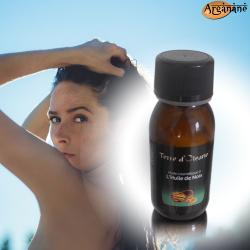 Huile cosmétique à l'huile de noix 60 ml - Terre d'oleane