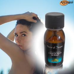 Huile cosmétique à l'huile de Pépins de raisin 60 ml - Terre d'oleane