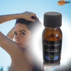 Huile cosmétique à l'huile d'Aloé Vera 60 ml - Terre d'oleane