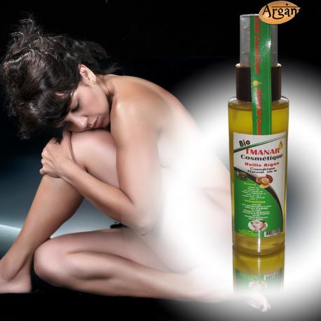 Huile d'argan cosmétique 60 ml - Tmanar