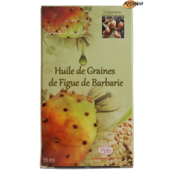 Huile de graines de figue de barbarie 15 ml